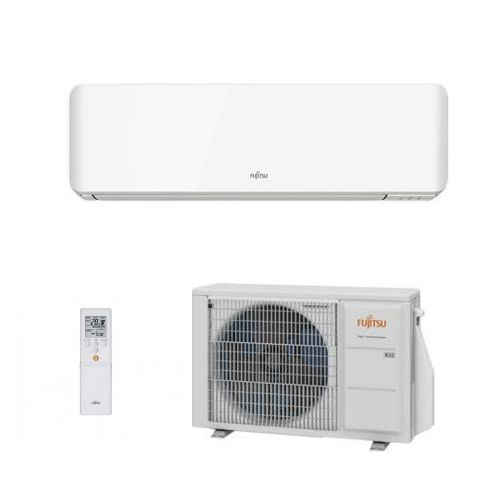 Fujitsu Air conditioning ASYG14KMCC Wall Mounted Heat pump A++ R32 4Kw/14000Btu Install kit